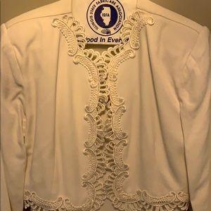 Scoot McClintock wedding dress with jacket